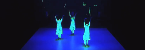 Daito Manabe's Dynamic Dance Projections