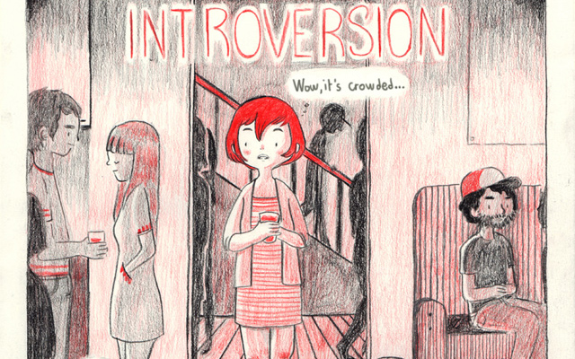 Introversion, A Comic by Luchie