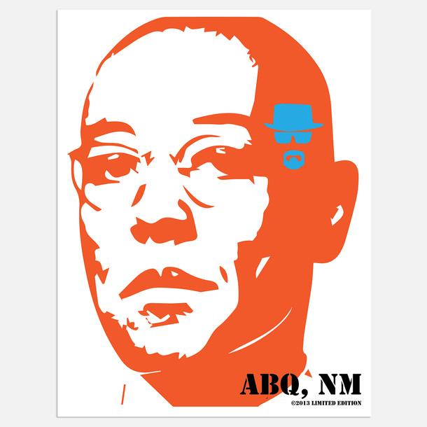 """Digital Art Inspired by """"Breaking Bad"""""""
