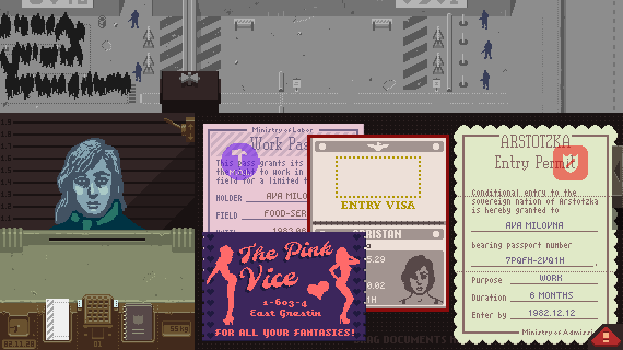 "Inspect Your Priorities in ""Papers, Please"""