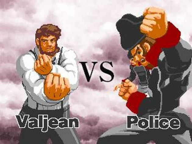 Street Fighter Meets Classic French Literature
