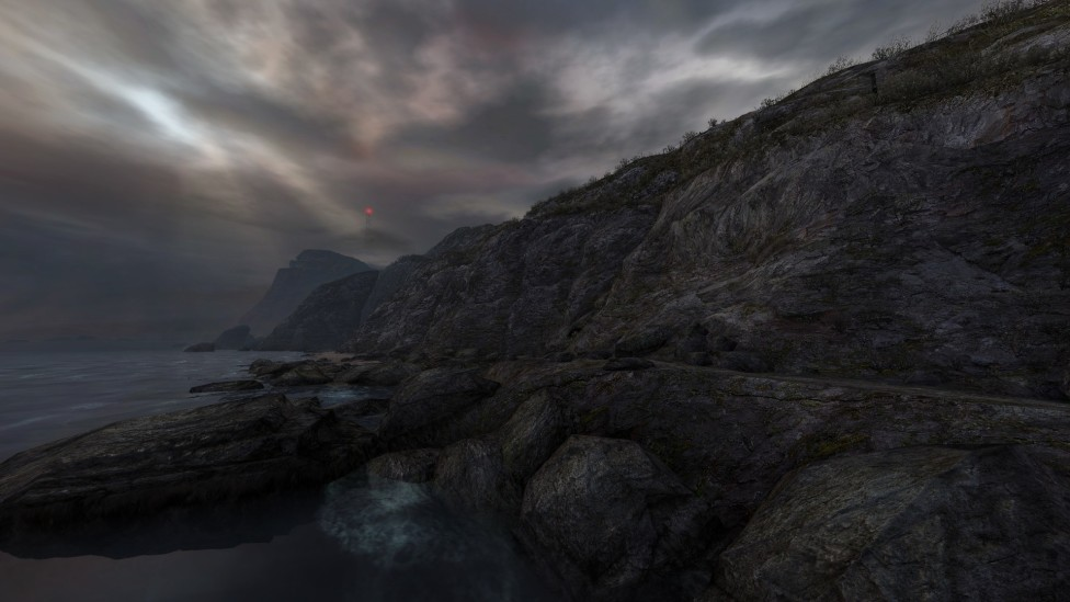 """Dear Esther"" is a First-Person Story"