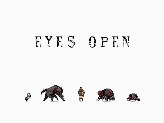 "Close Your Eyes in ""Eyes Open"""