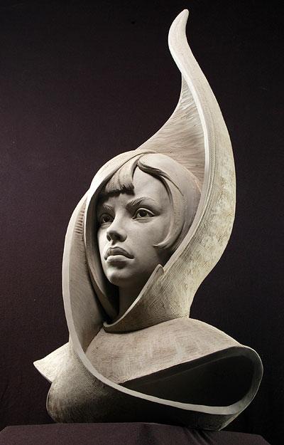 Portrait Sculpture by Philippe Faraut