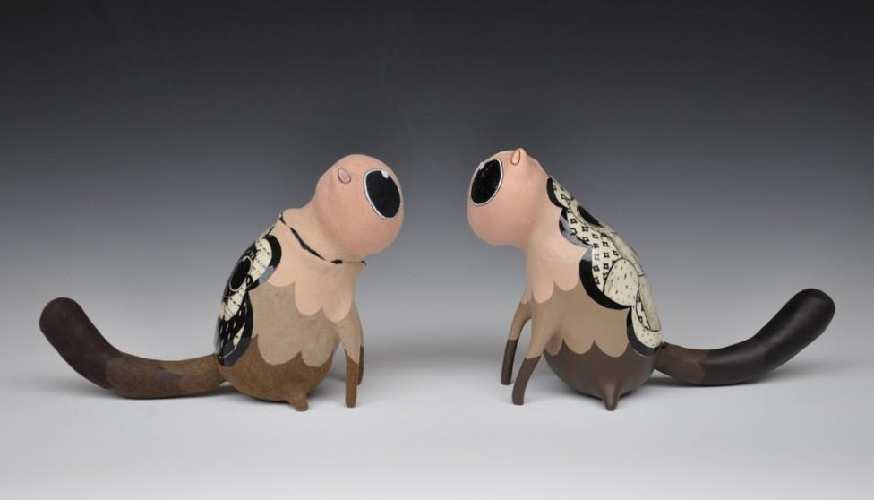 Samantha Bachman's Quirky Cat Ceramics