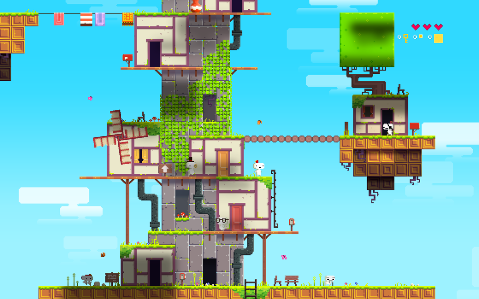 """Fez"" is a Mind Boggling Puzzle Platformer"
