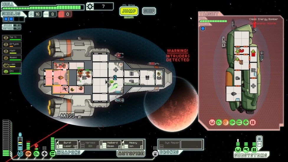 """Die Among the Stars in """"FTL: Faster Than Light"""""""