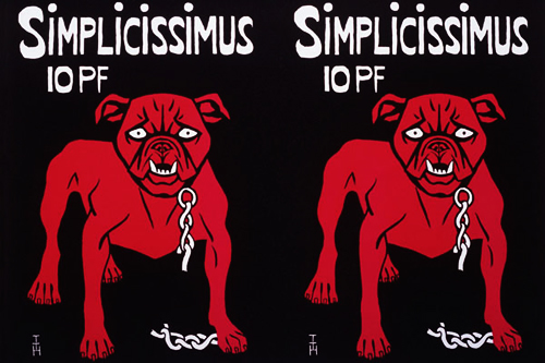 "The Outrageous, Satirical Art of ""Simplicissimus"""