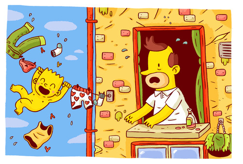 "Artists Pay Homage to ""The Simpsons"" with These Edgy, Unofficial Comics"
