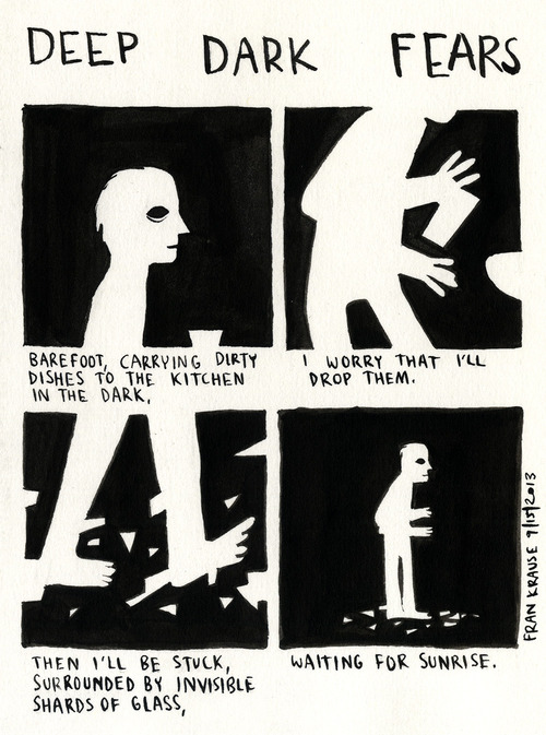 "Tumblr Art: Everyday Horrors Come to Light in ""Deep Dark Fears ..."