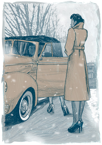 "See Illustrations for Each of J.D. Salinger's ""Nine Stories"""
