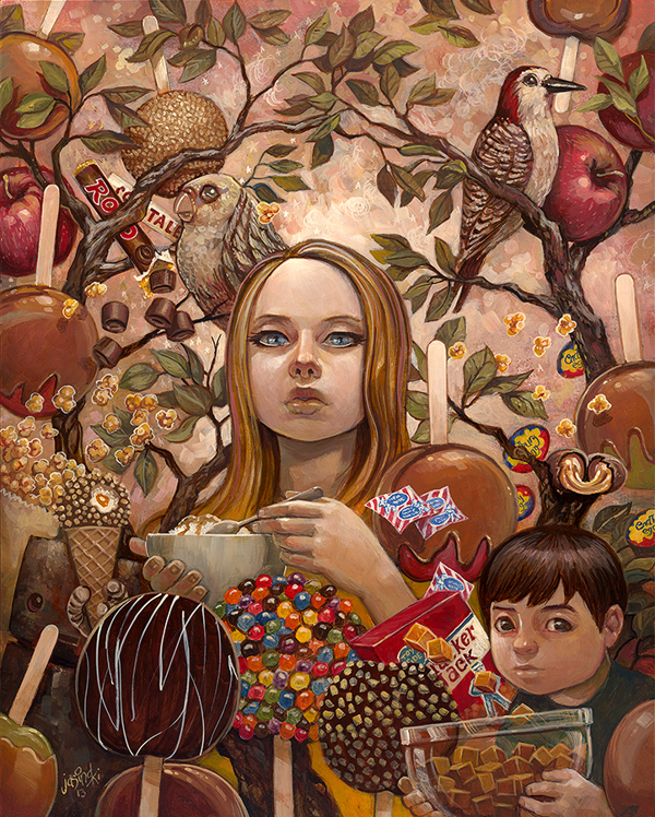 """Aaron Jasinski Explores Candy Flavors in """"Eye Candy"""""""