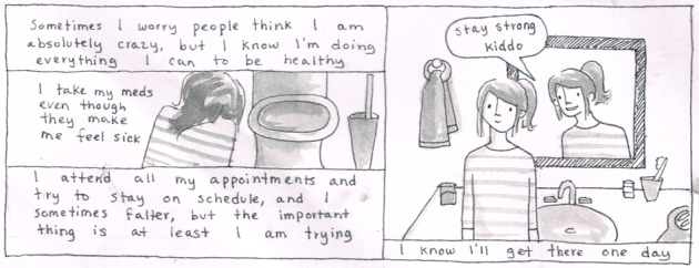A Comic That Illustrates the Difficulty of Living with Bipolar Disorder