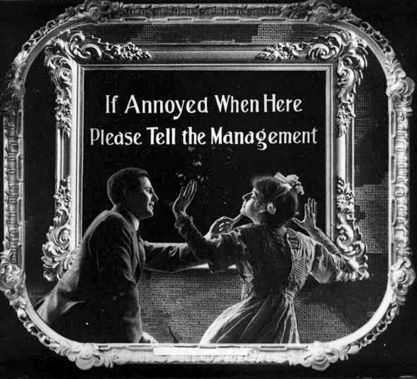 Silent Movie Etiquette Signs Prove That People Were Always Jerks