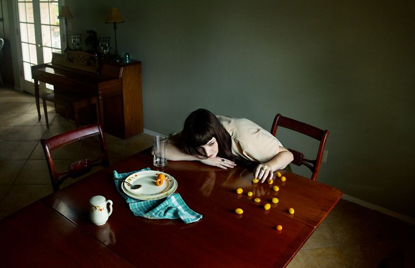"Between the Quiet, a Photo Series Inspired by Chan-Wook Park's ""Stoker"""