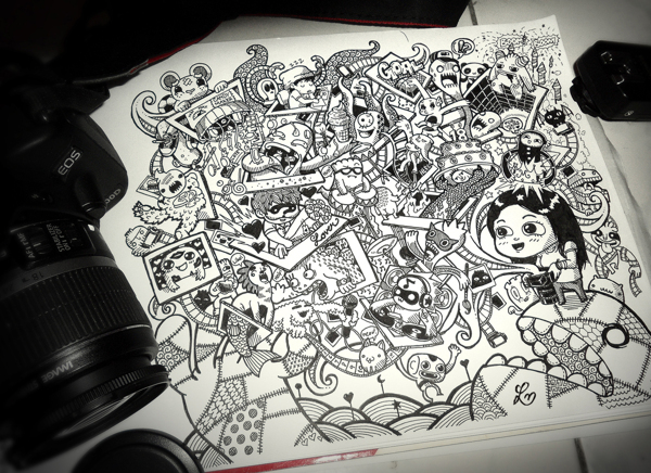 Doodle Art by Lei Melendres