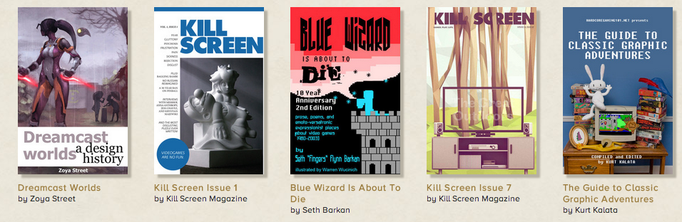read a collection of video game themed books from storybundle