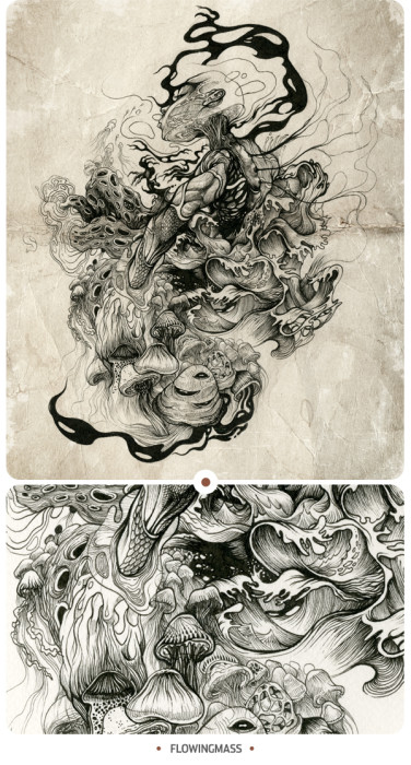 "DZO Olivier's ""Inkstinctive"" Shows the Beauty of Mistakes"