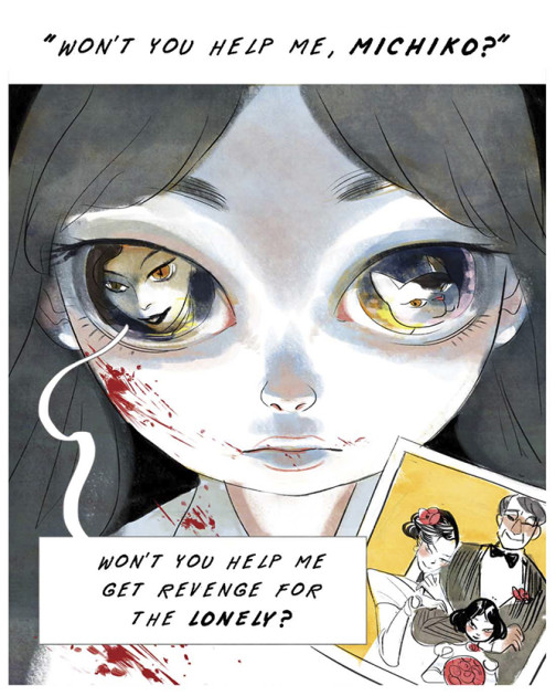 Neko: The Cat, a 12-Panel Comic About Creepy Stepmothers and Evil Cats