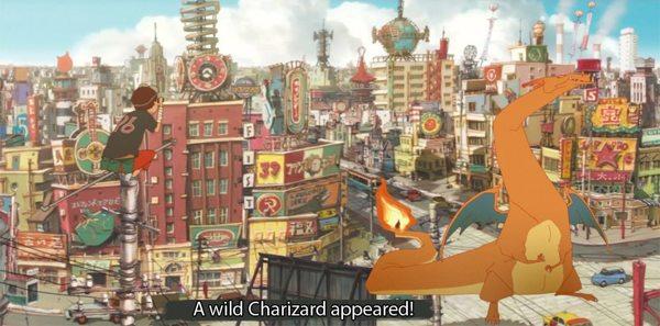 Pokemon Meets Tekkonkinkreet