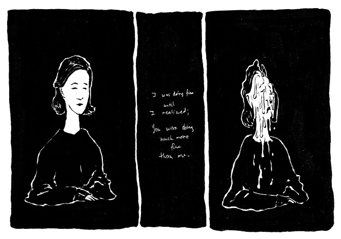 "Destined for Misery: An Illustrator's Collection of ""Poor Me"" Comics from the Past Six Months"