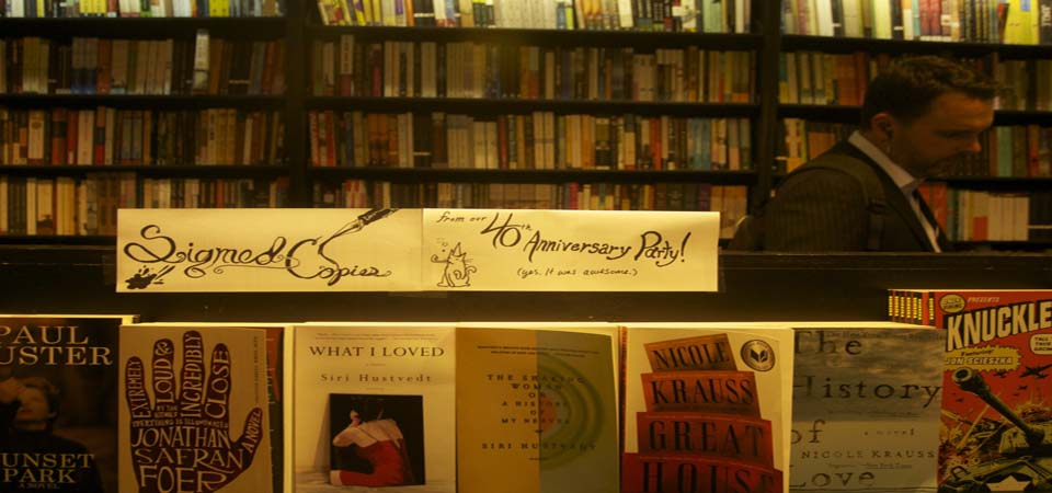 Support Independent Bookstores (and Avoid Hipsters) at the Park Slope Community Bookstore