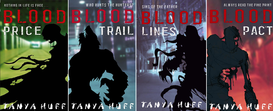 "Tanya Huff's ""Blood Books"" Is a Vampire Series with Brains and Kickass Heroines"