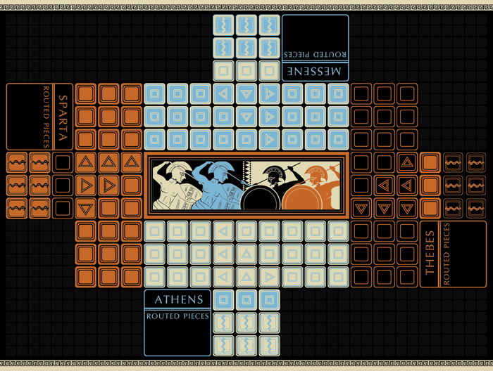 Conquer Territory and Fight Neighbors in This Ancient Greek-Themed Board Game