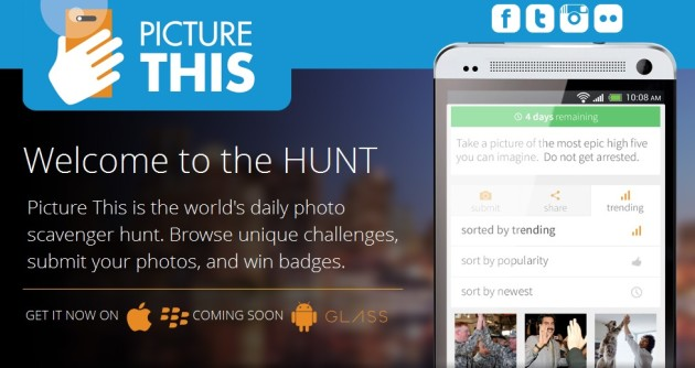 Go on a Mobile Scavenger Hunt with PictureThis