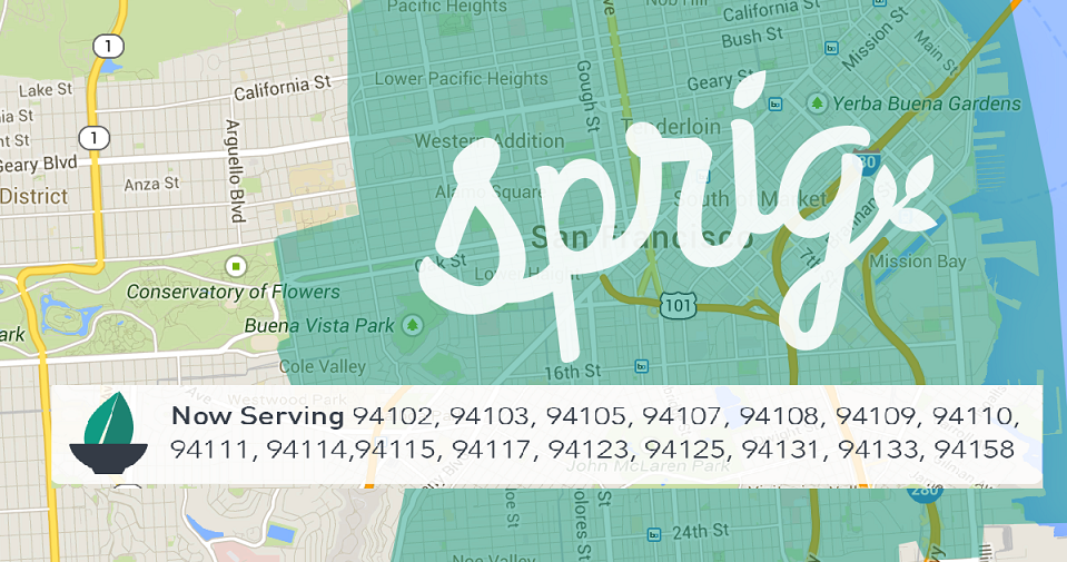 Sprig: Cooked for You, Right From Your Phone