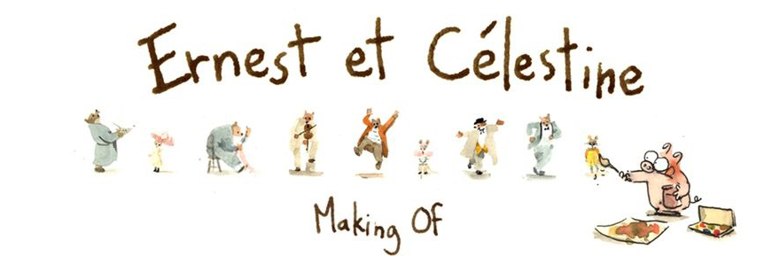 "Here's a Tumblr Comic About the Making of ""Ernest & Celestine"""