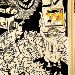 Here's a Living Room Mural Drawn with Sharpies