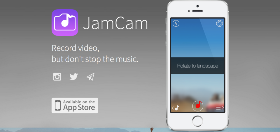 JamCam: Finally, an App That Lets You Add Music to Your Videos