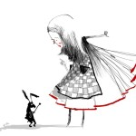 Oriol Malet Illustrates Characters from Classic Teen Literature