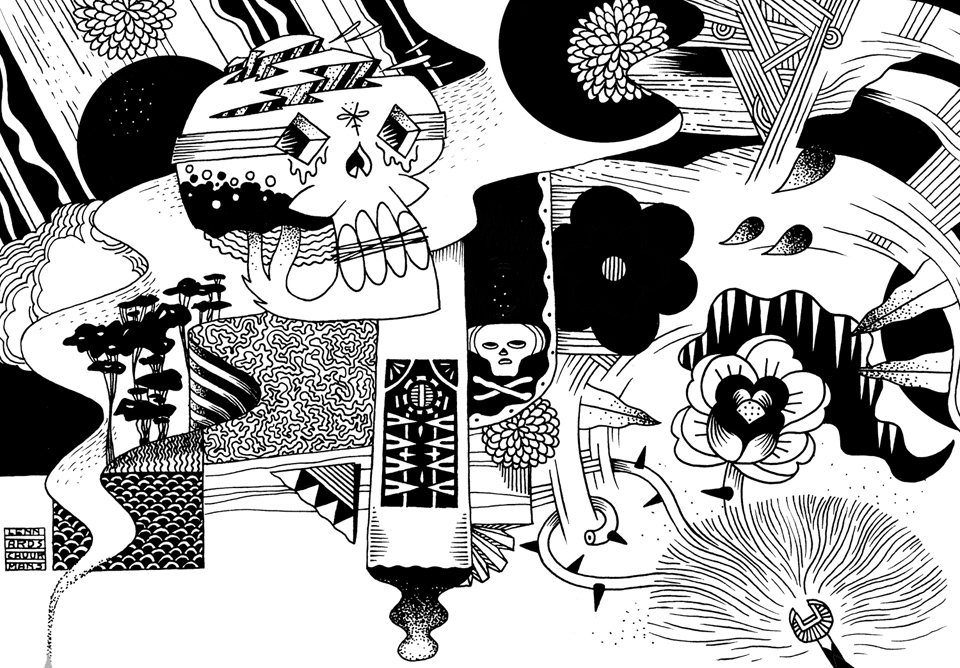 "Exquisite Corpse: A Collaborative ""Never-Ending"" Illustration Project"