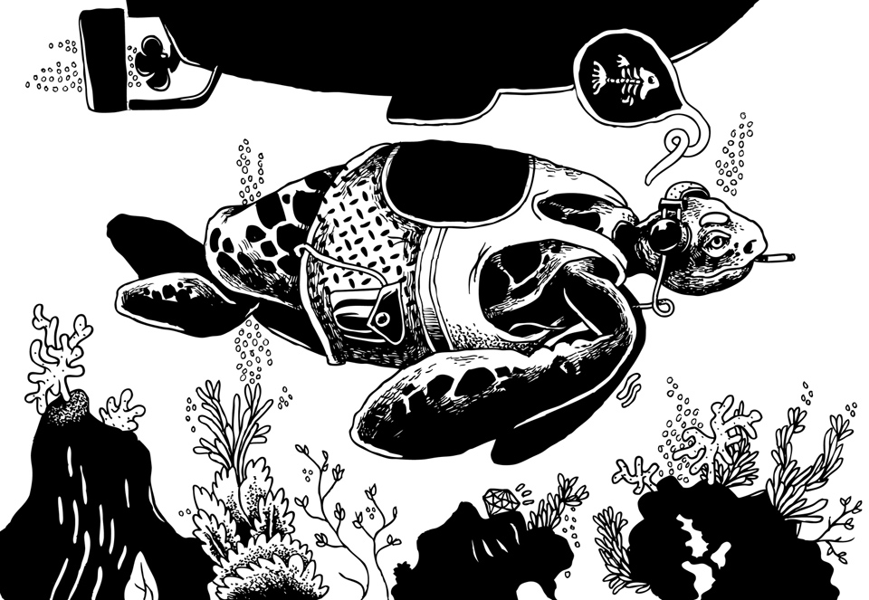 """Exquisite Corpse: A Collaborative """"Never-Ending"""" Illustration Project"""
