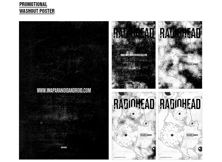 "Lucien Ng Designs a Hypothetical Viral Campaign for Radiohead's ""Paranoid Android"""