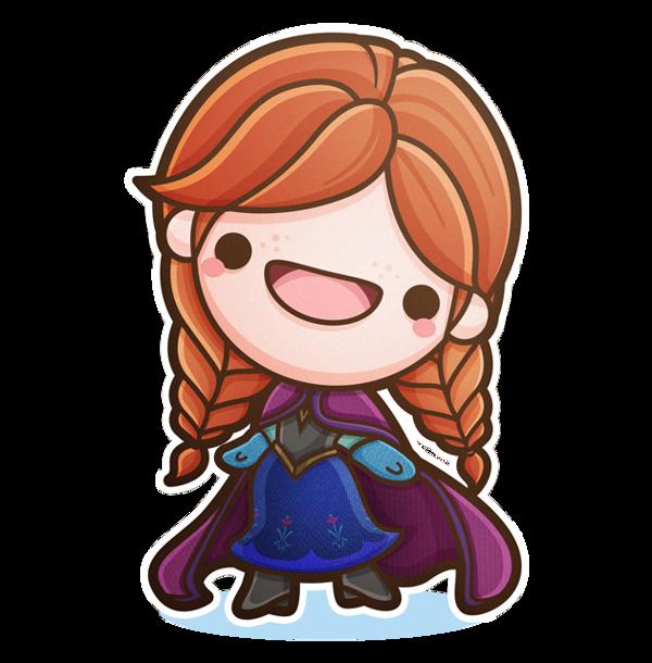 Kawaii Frozen Your Favorite \u201cFrozen\u201d Characters Are Now 80%