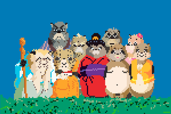 Studio Ghibli Gets an 8-bit Makeover