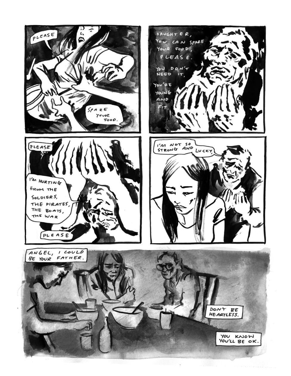 """Ma,"" a Comic That Puts a Human Face on the Refugees Affected by the Vietnam War"