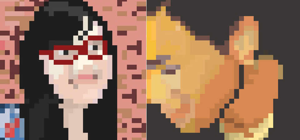 Pixel Portraits by Pete Tong