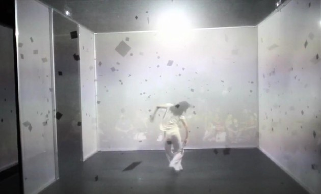 Watch a Live-Generated Digital Dance in