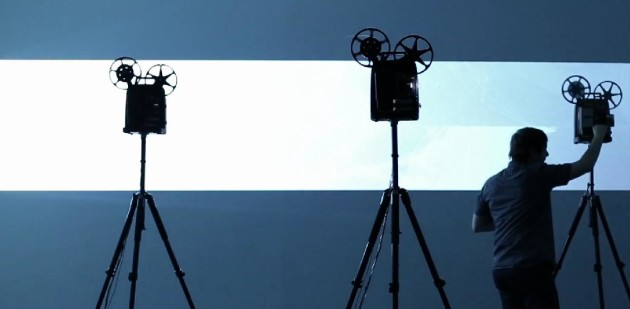 Composer Martin Messier Creates Musical Noise with Film Projectors