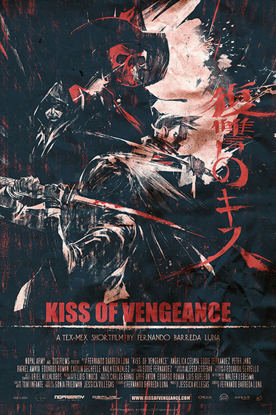 "Exploitation Meets Kung Fu Western in ""Kiss of Vengeance"" Concept Art"