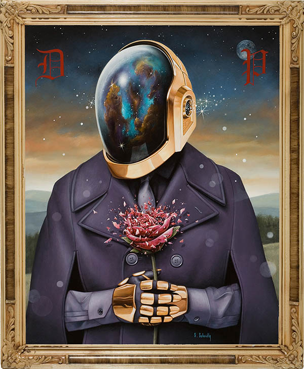 Daft Punk Deux: An Art Show Inspired by the Electronic Duo