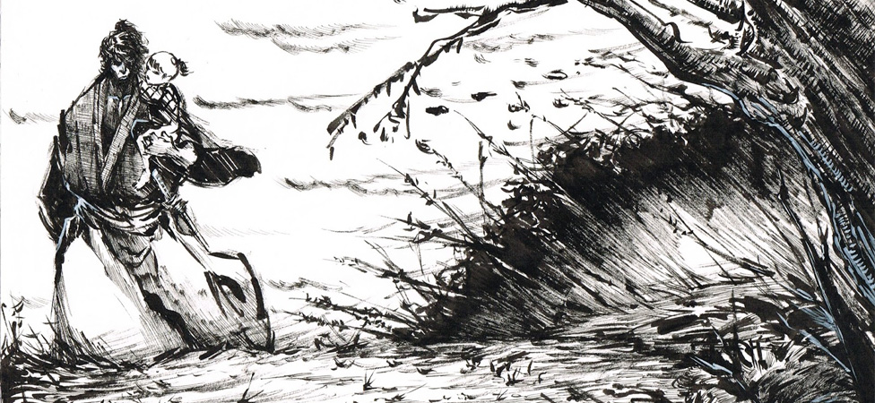 "Delve Deep Into the Life of an Assassin in the Classic Manga ""Lone Wolf and Cub"""