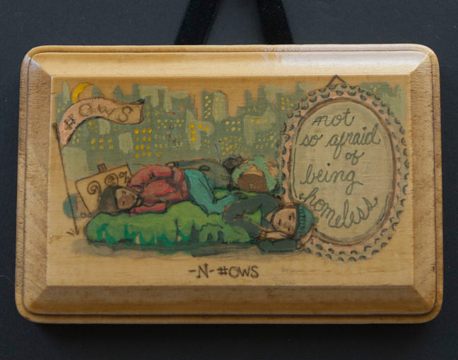 Recession Souvenirs: A Project That Translates Recession Stories into Little Wooden Plaques
