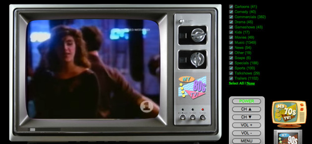 Here's the '80s TV Simulator You Always Wanted