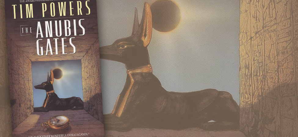 """Travel Through Time in the Adventure Classic """"The Anubis Gates"""""""