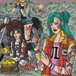 Dragon Ball Zine: A Collaborative Fan Art Zine